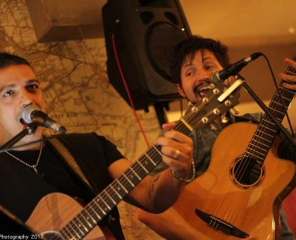 Two Shots Acoustic Duo for hire